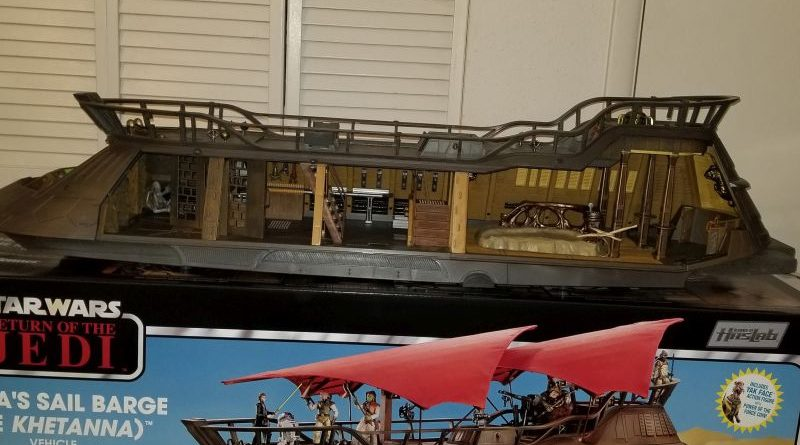 Hasbro Jabba Sail Barge Banner