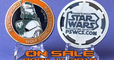 PSWCS.org Launches Its Newest Charity Medallion at Star Wars Celebration Chicago