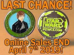 PSWCS Last Chance Luke Medallion