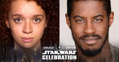 Erin Kellyman And Ahmed Best Attending Celebration Chicago