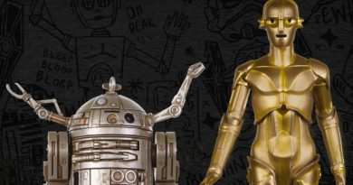 Hera Mini Bust, McQuarrie Concept Droids Ornaments And Plush In Part 1 Of Celebration Exclusives Reveal