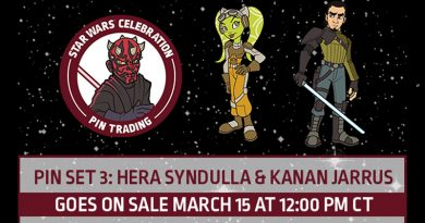 Celebration Chicago Hera And Kanan Pins On Sale March 15