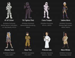 SWCC19 Pin Trading Vendor Exclusives