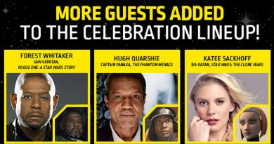 Forest Whitaker, Hugh Quarshie And Katee Sackhoff Attending Celebration Chicago