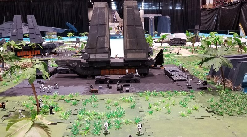 SWCC19 Diorama Workshop Scarif Banner