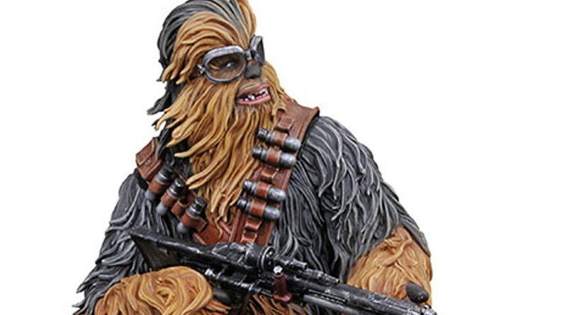 GG Statue Solo Chewbacca Banner