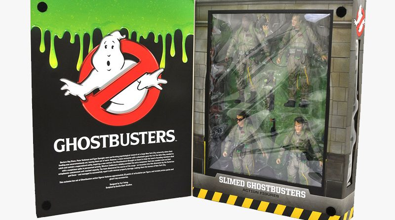 DST SDCC19 Ghostbusters Slimed Banner