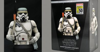 McQuarrie Concept Sandtrooper Bust At San Diego Comic-Con