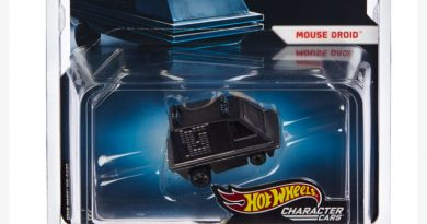 Hot Wheels Mouse Droid Character Car For SDCC