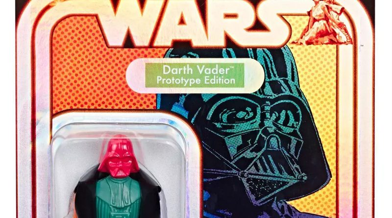 Hasbro Retro Prototype Darth Vader Coming To Target July 21st