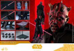 Hot Toys Solo Darth Maul Accessories