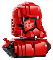 Lego SDCC 77901 Sith Trooper Bust