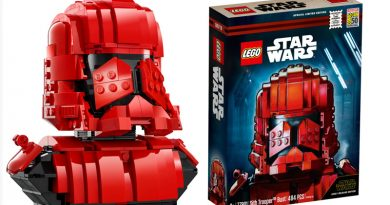 Lego Sith Trooper Bust For SDCC