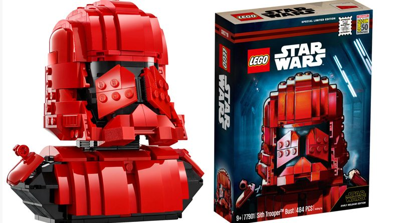 Lego SDCC 77901 Sith Trooper Bust Banner