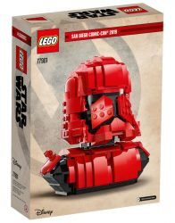 Lego SDCC 77901 Sith Trooper Bust Box Back