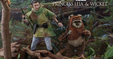 Hot Toys Endor Princess Leia And Wicket Pre-order
