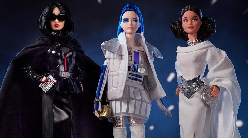 Star Wars x Barbie Doll Banner
