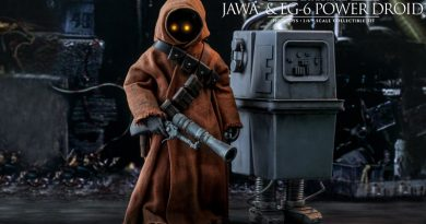 Hot Toys Previews Jawa And EG-6 Power Droid