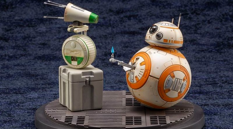 Kotobukiya ARTFX RoS BB-8 and D-O Banner