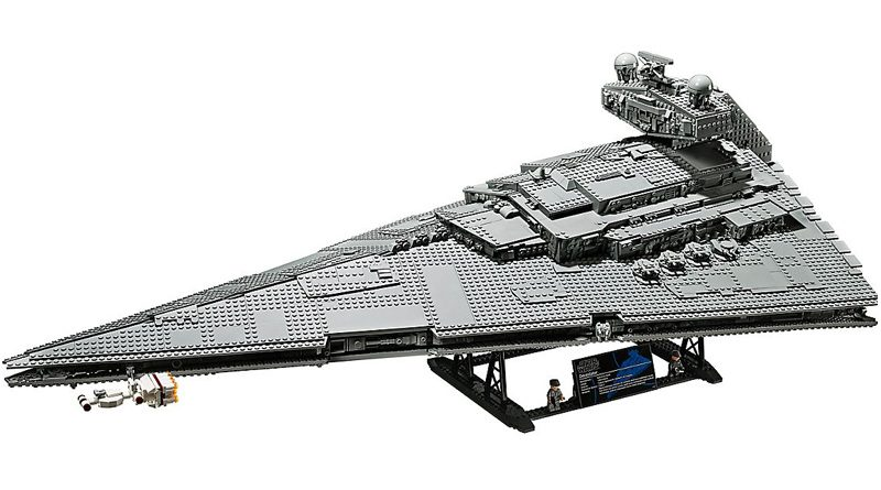 Lego 75252 UCS Imperial Star Destroyer Banner