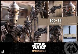 Hot Toys IG-11 Accessories