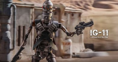Hot Toys Reveals IG-11