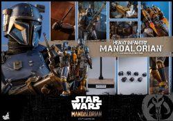 Hot Toys Heavy Mandalorian Accessories