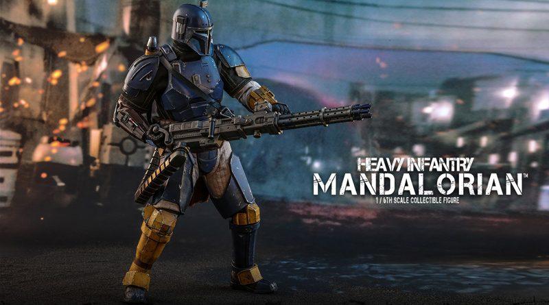 Hot Toys Heavy Mandalorian Banner