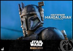 Hot Toys Heavy Mandalorian Helmet