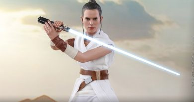 Hot Toys Debuts The Rise of Skywalker Rey And D-O