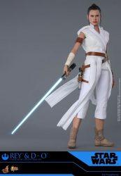 Hot Toys The Rise Of Skywalker Rey D-O Lightsaber