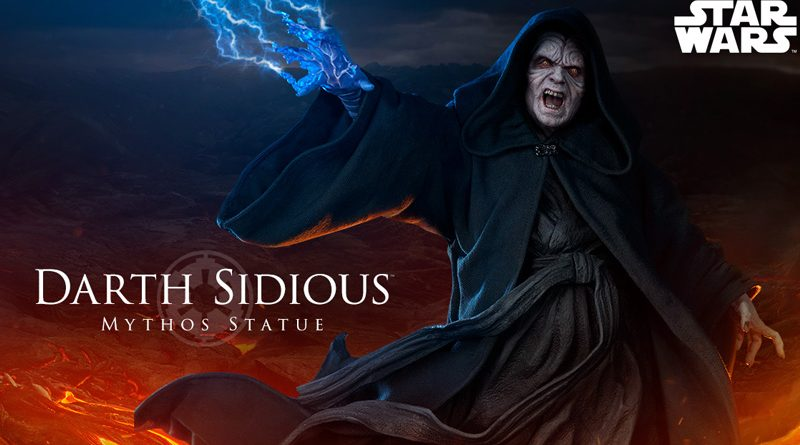 Sideshow Mythos Darth Sidious Banner