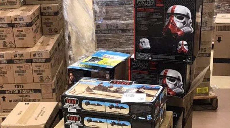 Hasbro Warehouse Sale Banner