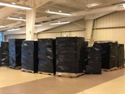 Hasbro Warehouse Sale Day 2 02 Return Pallets