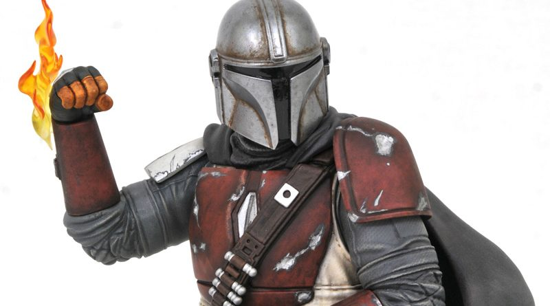 Gentle Giant The Mandalorian Bust Banner