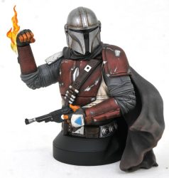 Gentle Giant The Mandalorian Bust Front