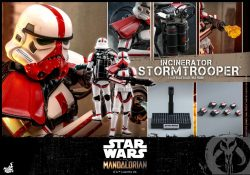 Hot Toys Incinerator Stormtrooper Accessories