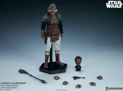 Sideshow Lando Calrissian Skiff Guard Accessories