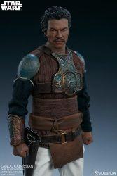 Sideshow Lando Calrissian Skiff Guard Portrait Close