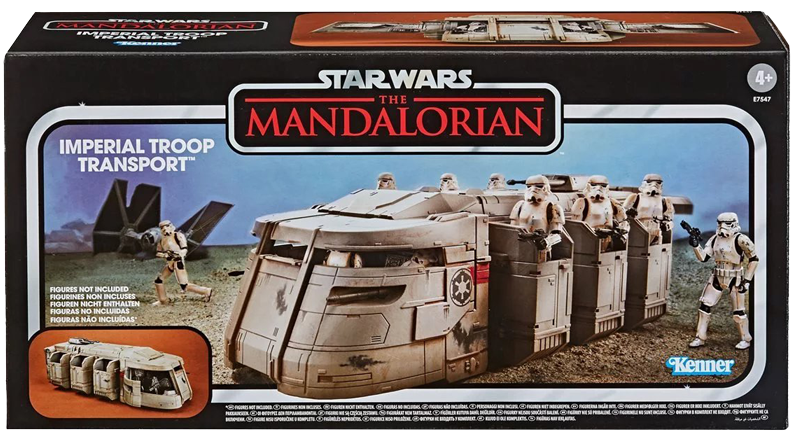 Hasbro TVC Mandalorian Imperial Troop Transport Banner