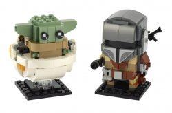 LEGO 75317 The Mandalorian And Child BrickHeadz