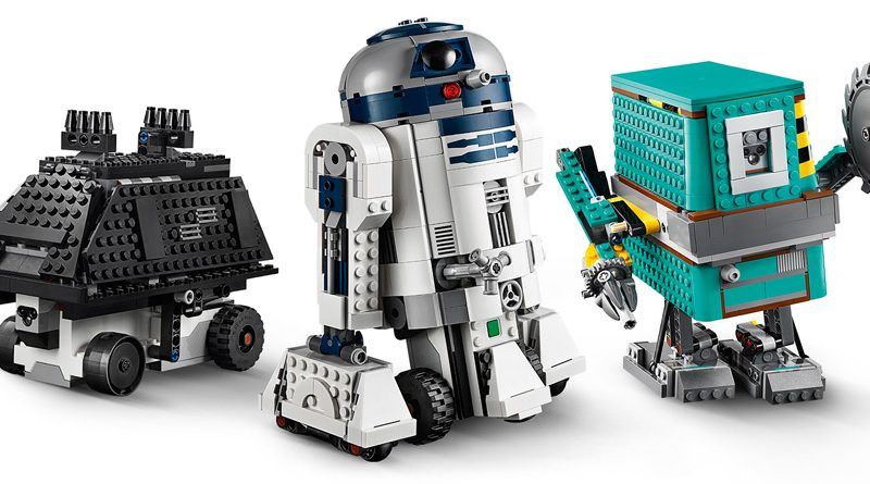 Lego Boost Droid Creator Banner