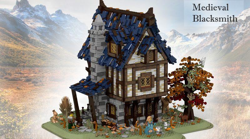 Lego Medieval Blacksmith banner