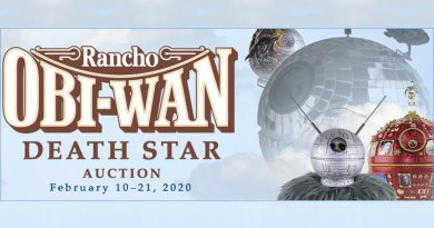 Rancho Obi-Wan Auction Offers 30 Artist-Designed Death Star Replicas