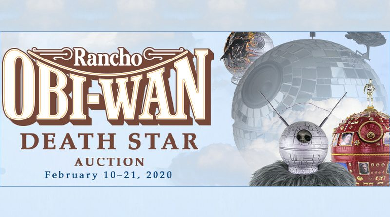 Rancho Obi-Wan Death Star Auction Banner