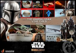 HT The Mandalorian And Child Deluxe Accessories