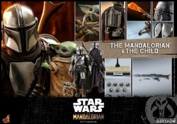 HT The Mandalorian And Child Regular Accessories