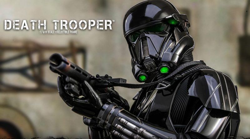 Hot Toys The Mandalorian Death Trooper Banner