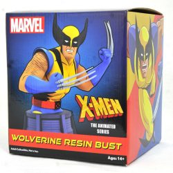 DST Marvel Animated Wolverine Bust Pkg