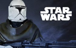 GG Hawkbat Clone Trooper Statue